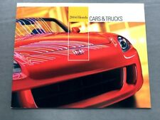 2004 Honda Line Sales Brochure Catalog - Pilot Element S2000 CRV Civic Si Accord