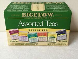 Bigelow ASSORTED TEAS VARIETY PACK 18 Tea Bag Box FREE SHIPPING