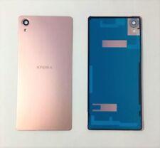 Fundas y carcasas metálicas de color principal rosa para teléfonos móviles y PDAs Sony