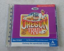 The Oregon Trail Classic PC Mac Game 1999 Learning Company Vintage 90s Computer