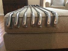 Used Callaway Apex Pro Forged Iron Set 4-P Project X Stiff Flex Steel Shafts