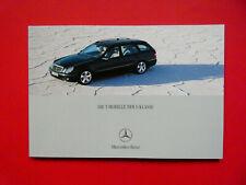 Prospekt / Katalog / Brochure Mercedes W211 E-Klasse T-Modell S211  06/03