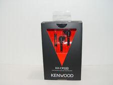 Kenwood KH-CR500B Black In Ear Sport Headphones KHCR500B Apple Android Highend
