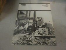 Vintage Case All-Job W14 Articulated Loader Brochure 11 Pages!