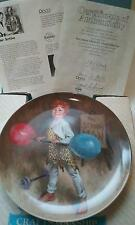 "NEW ""JOHNNY THE STRONGMAN"" COLLECTOR PLATE EDWIN KNOWLES BRADFORD EXCHANGE"
