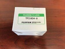 NEW FUJINON TF2.8DA-8 1/3-Inch 3CCD 2.8mm, f/2.2 FIXED FOCAL LENGTH MANUAL IRIS
