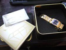 quality  unisex yves camani quartz watch, in box,  warranty card,