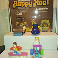 1991 McDonalds Back to The Future Happy Meal Toys Complete Set of 4