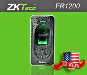 ZKTECO FR1200 Fingerprint and RFID Card Reader for InBIO/F18/F8/TF1700 Access zk