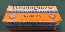 Ten Vintage Westinghouse 2320 6-8 Volt Headlight Bulb Original Box (9)