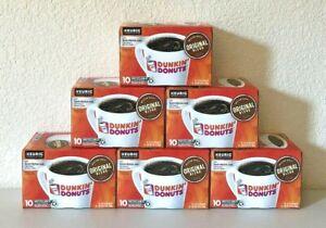 Dunkin' Donuts Original Blend Coffee K-Cup Pods Medium Roast 60 Ct (BB 01/2021)