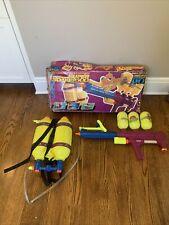 Original 1992 Larami Super Soaker 300 The Big One Water Gun Backpack w/ Box Rare