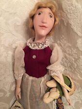 Vintage Artist Original Nettie Porcelain Lady Woman Girl Doll Margo Leguillon