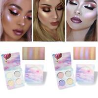 Eye Shadow Pressed Glitter Makeup Palette Shimmer Matte Pigmented HS &E