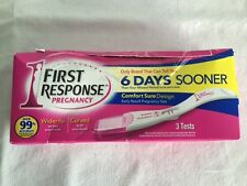 First Response Early Result Pregnancy Test Comfort Sure Design 3 Tests Exp 8/17+