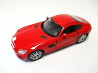 Mercedes AMG GT in rot Modellauto Metall 1:34, diecast,Welly Nex Model