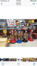 Original Wizard Gumball Machine Transparent Globe Amp Has Spiraling Base