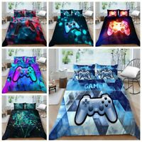 Milsleep Gamepad  Kids Bedding Set for Boys Gamer Comforter Cover Duvet Cover