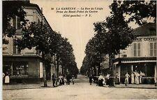 CPA LA GARENNE La Rue de l'Aigle,prise du Rond Point du Centre (413225)