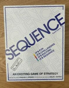 *BRAND NEW* JAX SEQUENCE BOARD GAME AN EXCITING GAME OF STRATEGY