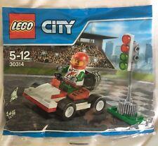 Lego 30314 City Go-Kart Racer Polybag New & Sealed Free Post
