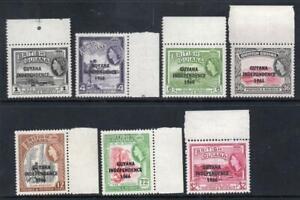 BRITISH GUIANA MNH 1966 Selection of oddments
