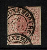 Luxembourg SC# 8, Used - Lot 040917