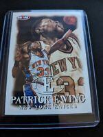 Patrick Ewing SkyBox NBA Hoops 1998 Card #68 New York Knicks NBA Basketball