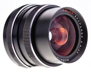 Voigtländer Color Skoparex 25 mm f 2,8 / Rollei QBM / Made in Germany Carl Zeiss