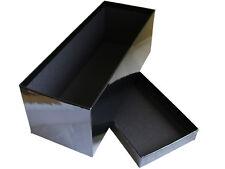 Large Gift Storage Rectangular Box Classic Black Gift 25.5cm Long 2L Capacity