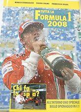 Tutta la Formula 1 2008 - Marco Evangelisti - Libro nuovo in offerta!