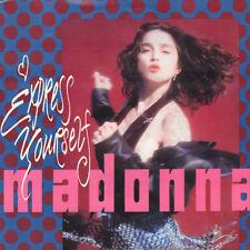 "MADONNA – Express Yourself (1989 VINYL SINGLE 7"" EUROPE)"