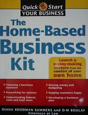 THE HOME-BASED BUSINESS KIT Quick Start Home How To Instruction Manual BOOK