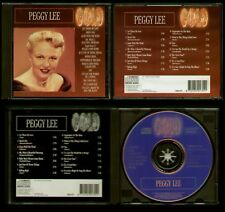PEGGY LEE GOLD - CD 1993 14 TRACKS - LET THERE BE LOVE