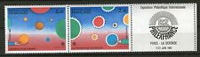 PAIRE TIMBRES 2200A NEUF XX LUXE  - PHILEXFRANCE 1982 - PAIRE + VIGNETTE