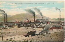 Largest Customs Smelter in the Southwest El Paso TX Postcard