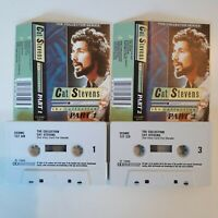 CAT STEVENS THE COLLECTION 2 X CASSETTE TAPE COMPILATION CASTLE DECCA UK 1985