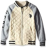U.S. Polo Association Big Boys' Fleece Quilted Jacket MSRP $44.00