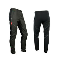 Men' Thermal Winter Cycling Windproof Pants Casual Trousers Outdoor Tights 4007