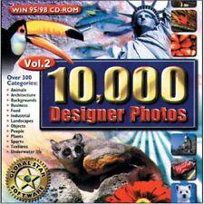 GLOBAL STAR SOFTWARE 10,000 Designer Photos Volume 2 for Win 95/98