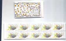 Australia 1992 Greetings Thinking of You Booklet Scott 1234a Sg Sb77 1318a