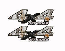 4X4 OFF ROAD SNOWSTORM Camo Decals Truck Stickers 2 Pack KM034ORBX