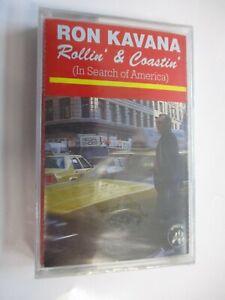 RON KAVANA - ROLLIN' & COASTIN' - MUSICASSETTA SIGILLATA 1985