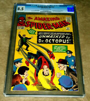 AMAZING SPIDER-MAN #12 CGC 8.5 VF+ DOCTOR OCTOPUS! 1964