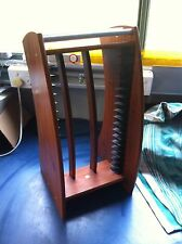 DVD Stand Timber Rack in Excellent Condition Holds 16 DVD's Holder