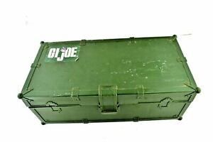 GI Joe Hasbro 1997 Foot Locker Action Figure Storage Container Carry Case Chest