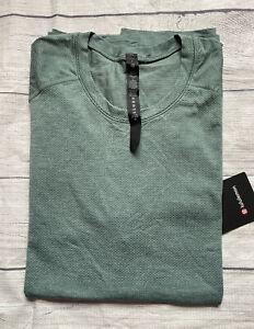 NWT Lululemon Metal Vent Tech 2.0 Short Sleeve Shirt SWTR/TIDT SZ M Medium