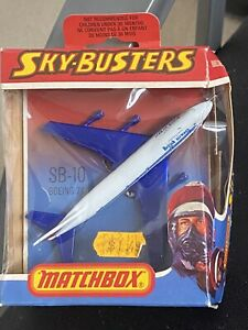 Matchbox Skybusters Boeing 747 British Airways SB-10 1978 NEW in Package