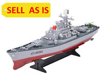 "SELL AS IS Navy Battleship RC Military Boat 23"" Destroyer Cruiser Warship Used"