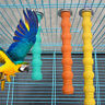 Birds Stand Platform Foot Paw Grinding Perches Stand Cage Parrot Budgie Chew Toy